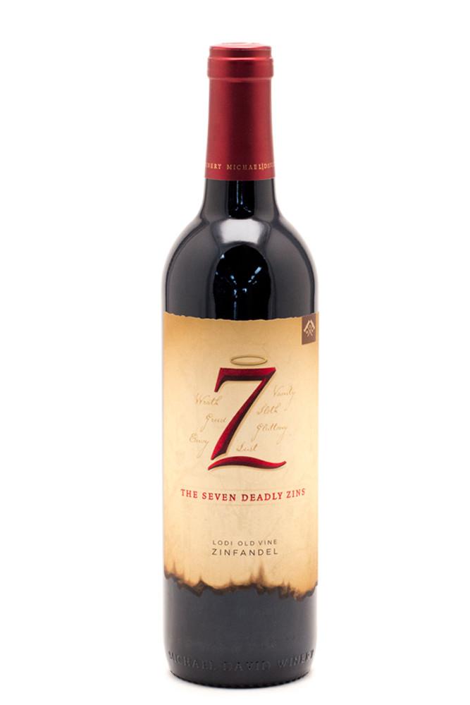 7 Deadly Zins by Michael David Zinfandel