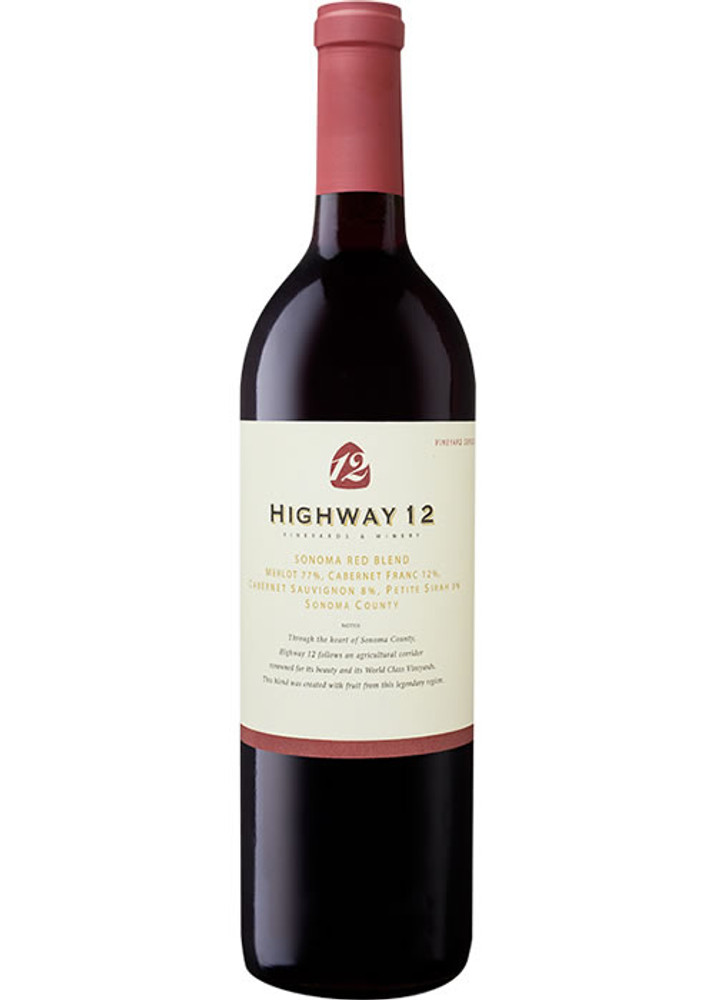 Highway 12 Sonoma Red Blend