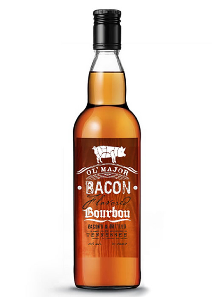 Ol Major Bacon Bourbon Whiskey