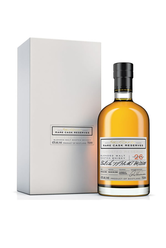 William Grant Rare Cask Reserves Ghosted Reserve 26 Year