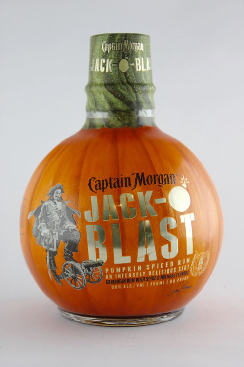 Captain Morgan Jack O' Blast 750ML