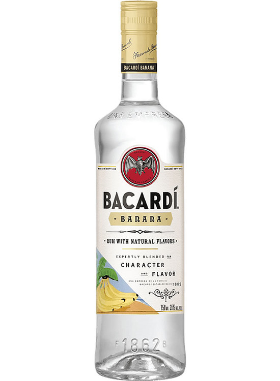 Bacardi Banana Rum 750ML