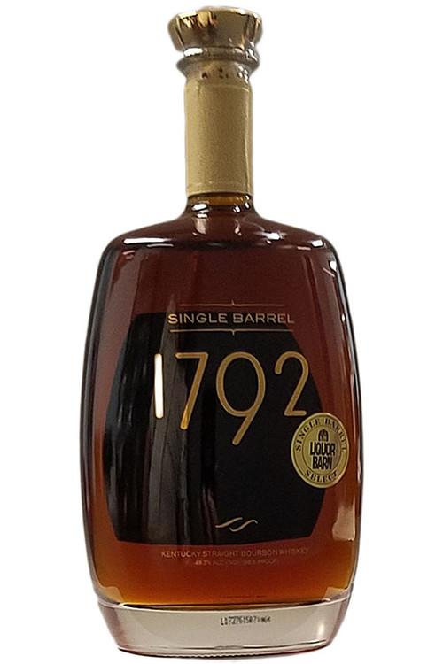 1792 Bourbon Liquor Barn Barrel 1.75L