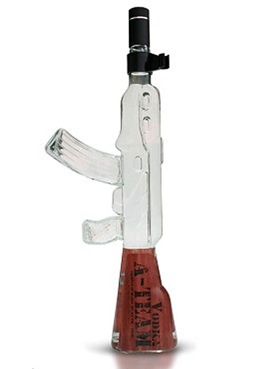 A-TEAM Machine Gun Decanter Vodka 750ML