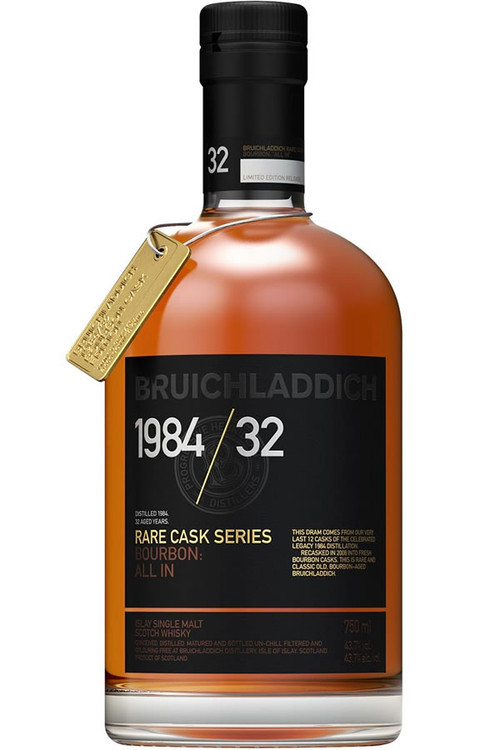Bruichladdich 1984 32 Year Rare Cask Series 750ML