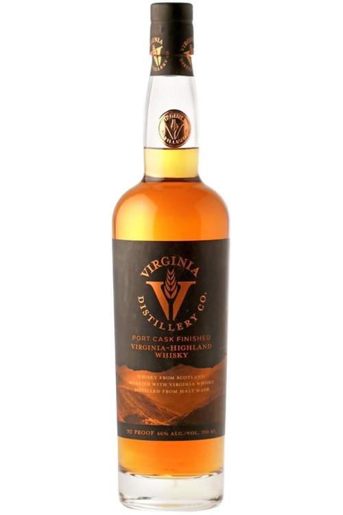 Virginia Distillery Company Port Finished Virginia Highland Malt Whisky