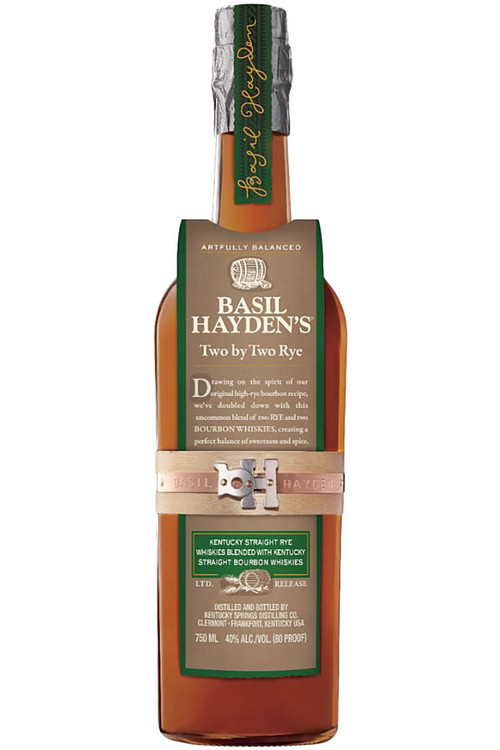 Basil Haydens Two By Two Rye