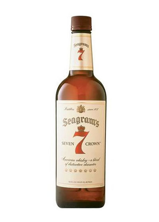 Seagrams 7 Crown 750ML Pet
