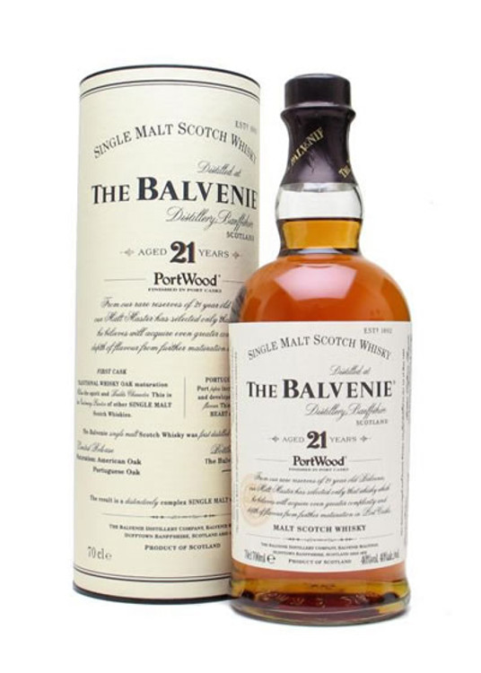 Balvenie 21 Years Old