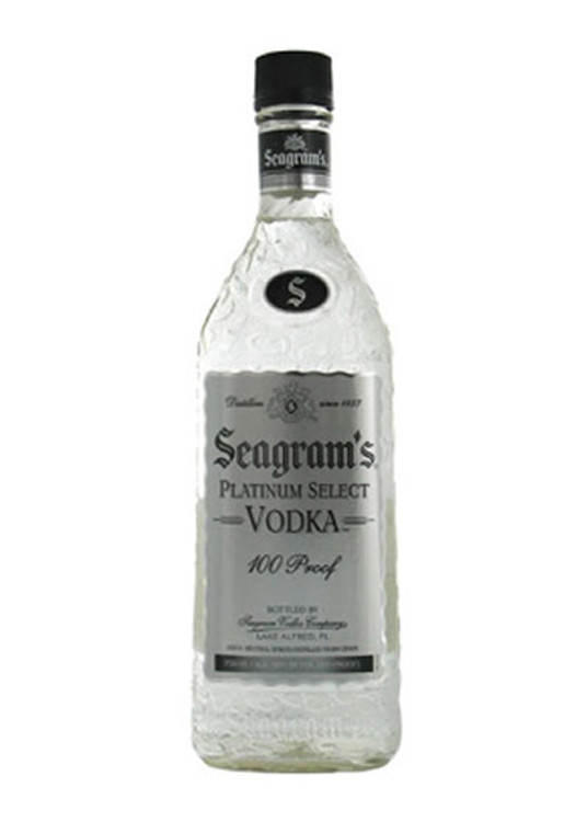 Seagrams 100 Proof Vodka 375ML