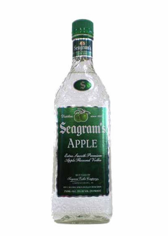 Seagrams Apple Vodka 750ML