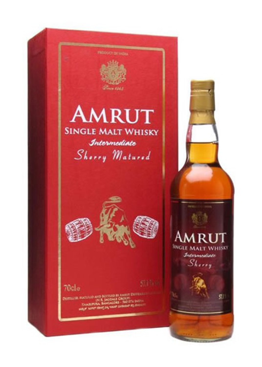 Amrut Intermediate Sherry 750ML