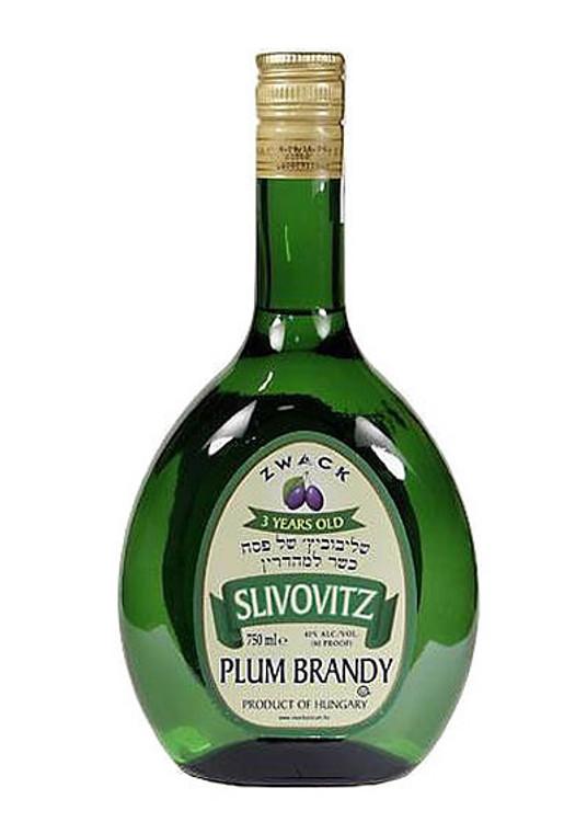 Zwack 3 Year Slivovitz Kosher 750ML