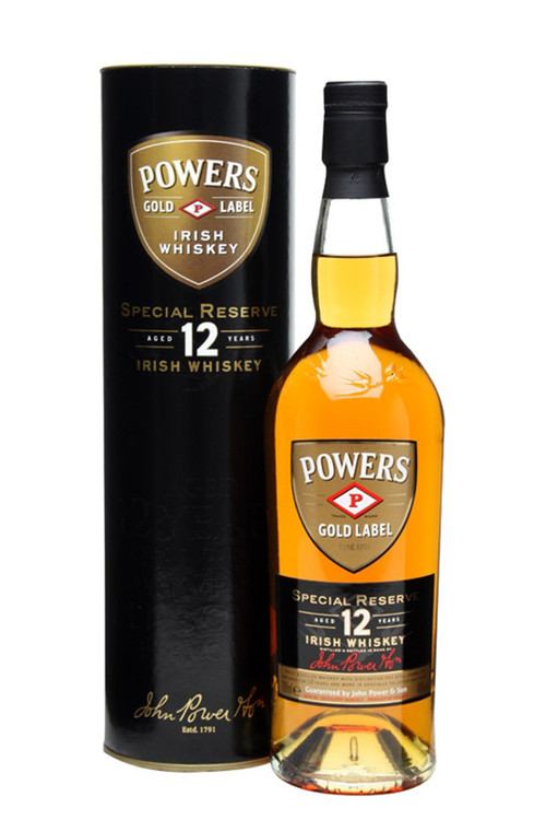 Powers Special Reserve 12 Year Irish Whiskey
