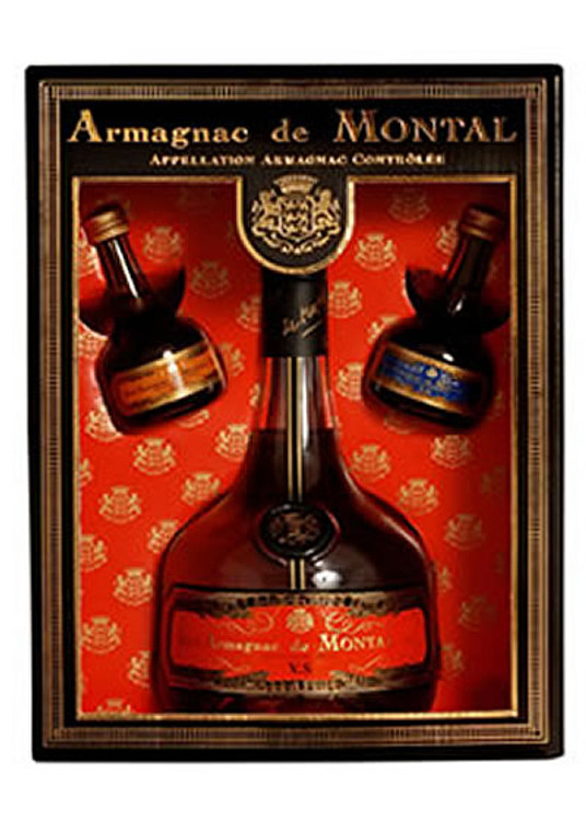 De Montal VS Armagnac 750ML Gift Set