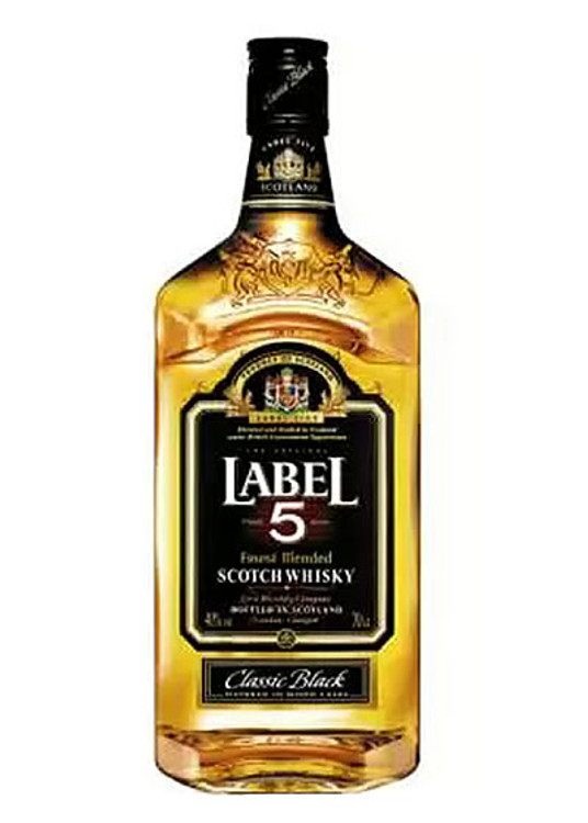 Label 5 Scotch 1.75L