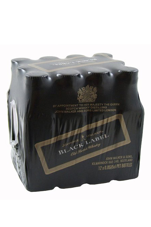 Johnnie Walker Black Label 12/50ML Pack