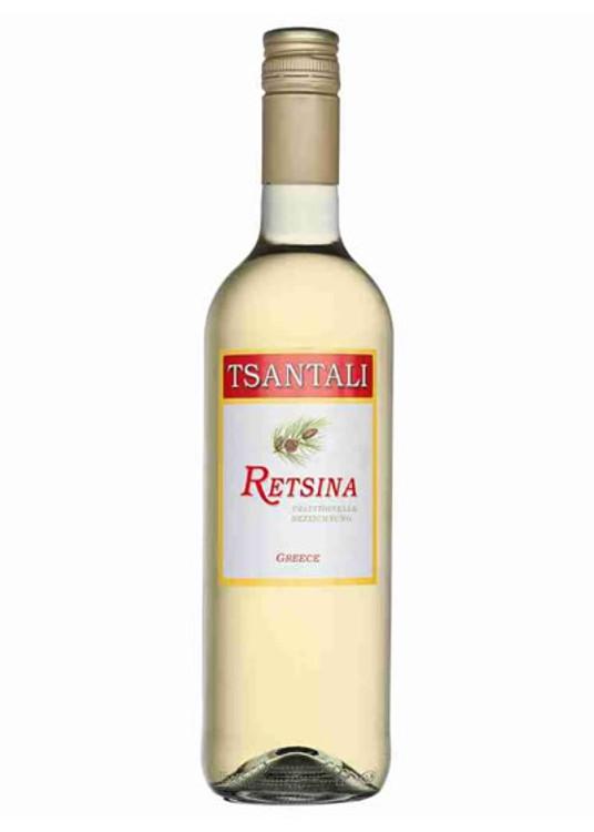 Tsantali Retsina 750ML