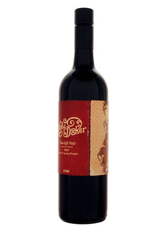 Mollydooker Two Left Feet Shiraz Cabernet   - 2011