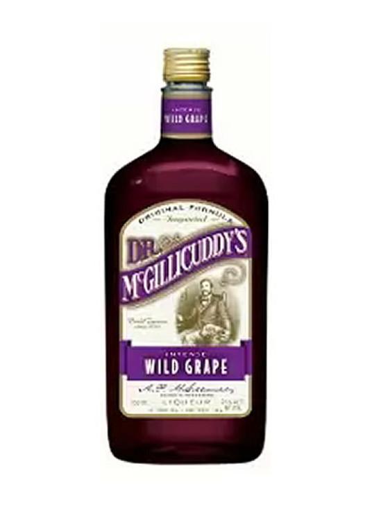 Dr Mcgillicuddy's Wild Grape 750ML