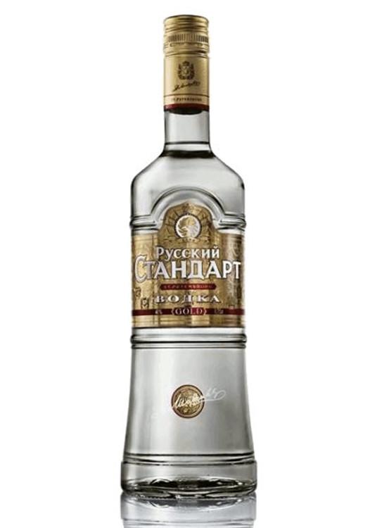 Russian Standard Gold Vodka 375ML 2PK