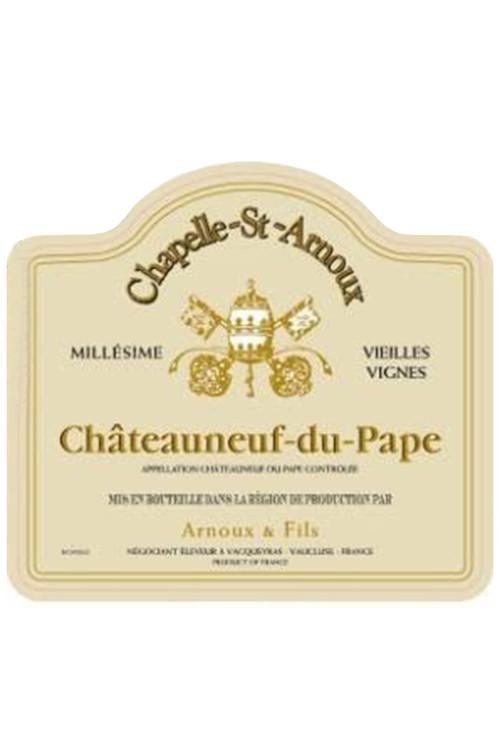 Chapelle St Arnoux Chateauneuf du Pape Vielles Vignes - 2009