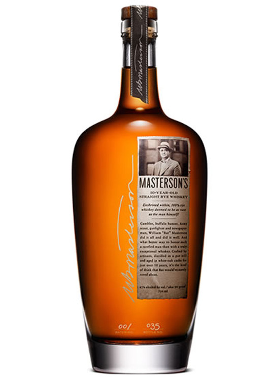 Masterson's 10 Year Old Straight Rye