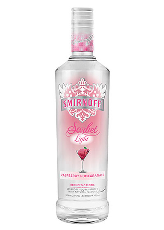 Smirnoff Sorbet Light Raspberry Pomegranate