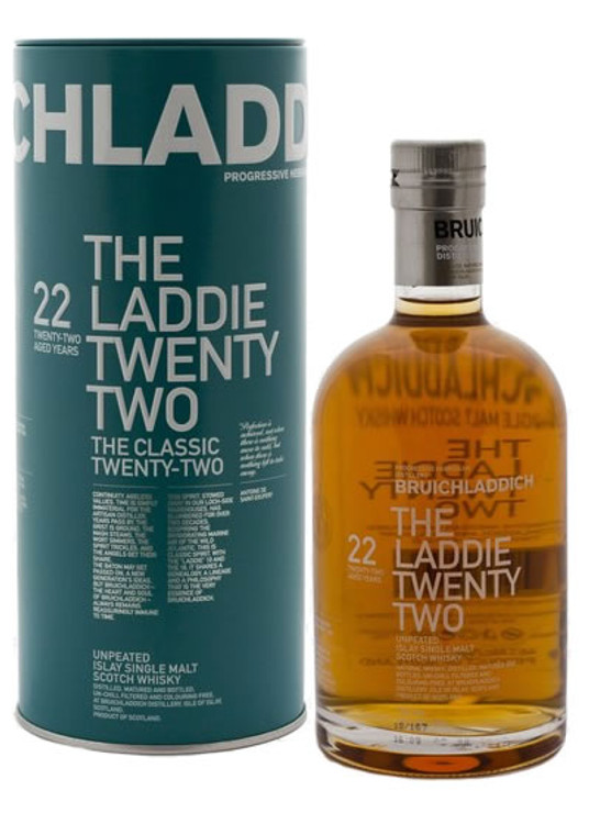 Bruichladdich The Laddie Twenty Two 22 Year