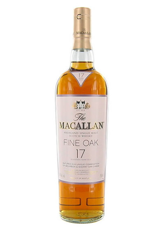 Macallan 17 Years Old Fine Oak