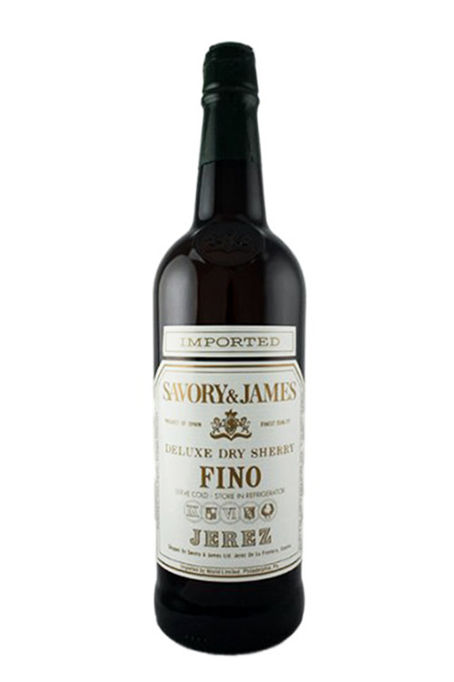 Savory & James Fino Dry Sherry