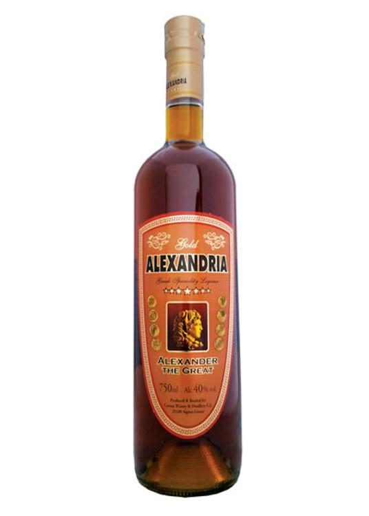 Alexandria 7 Star Greek Brandy 750ML