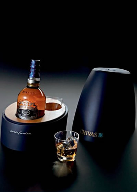 Chivas Regal 18 Year Pininfarina Special Edition with Glasses