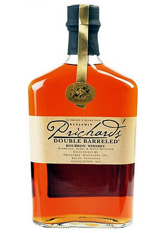Benjamin Prichard's Double Barreled Bourbon