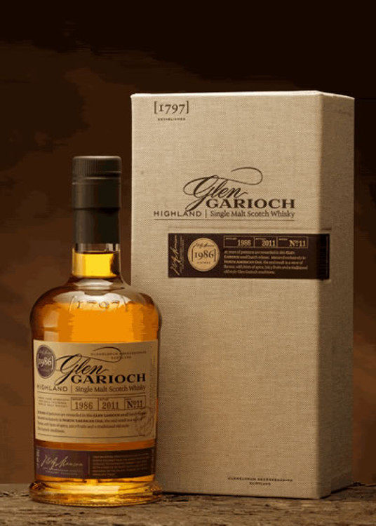 Glen Garioch 1986 Vintage Cask Strength 750ML