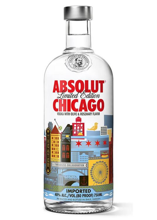 Absolut Chicago 750ML