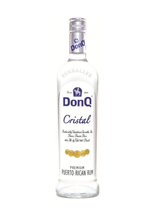 DonQ Cristal Rum 750ML