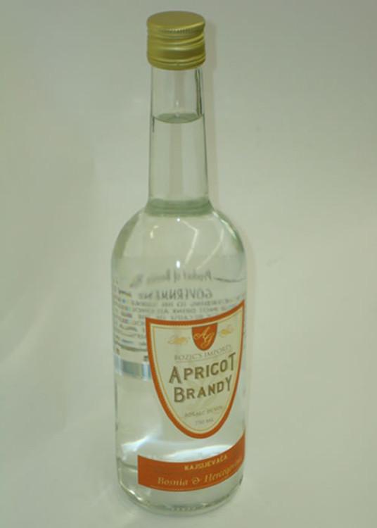 Bozic's Apricot Brandy 750ML