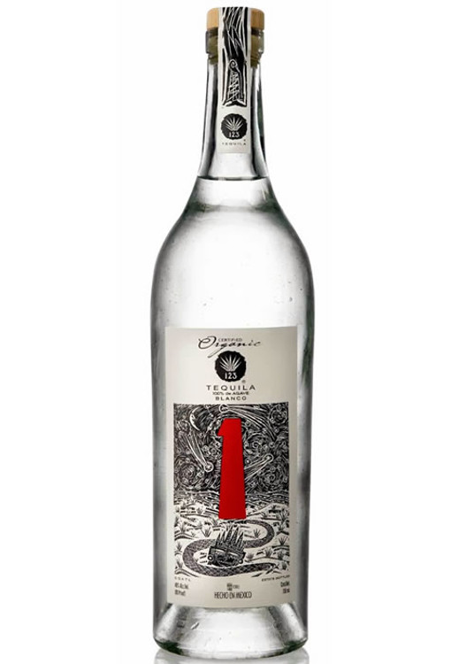 123 Organic Tequila #1 Blanco