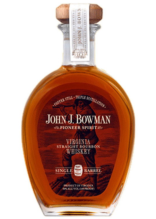 John J Bowman Single Barrel Bourbon