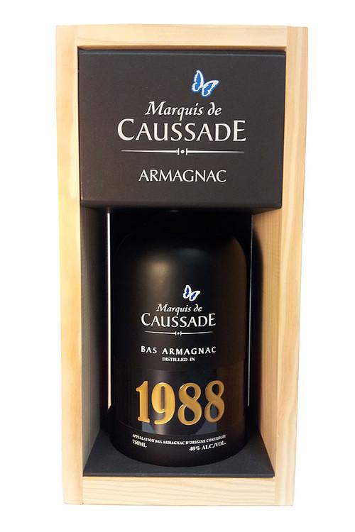 Marquis De Caussade 1988 Vintage Armagnac 750ML