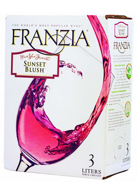Franzia Sunset Blush 3L
