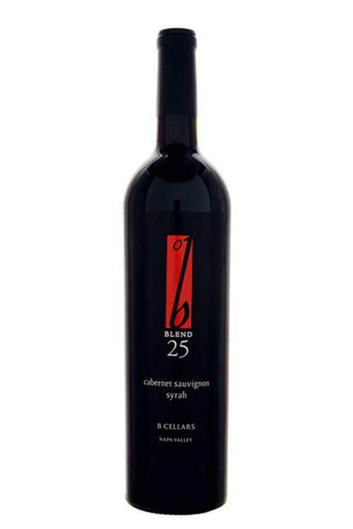 B Cellars Blend 25 Cabernet Sauvignon Syrah