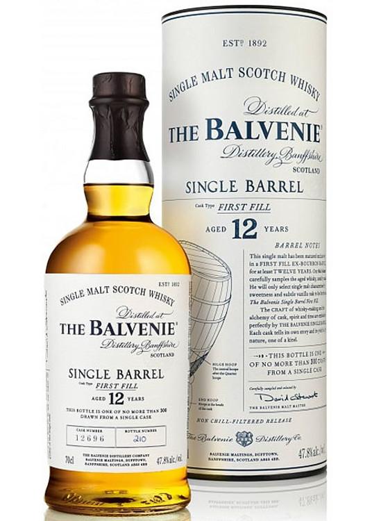Balvenie 12 Year Single Barrel 750ML