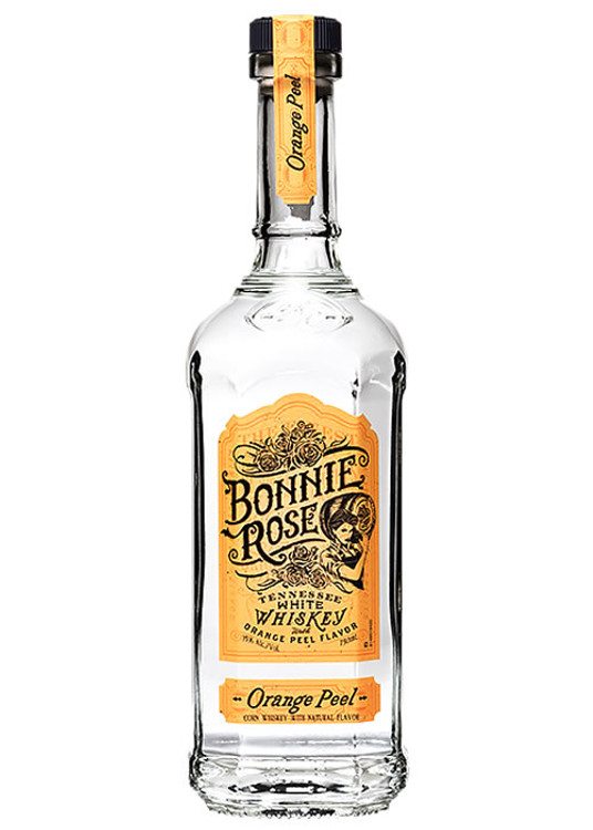 Bonnie Rose Orange Peel White Whiskey 750ML