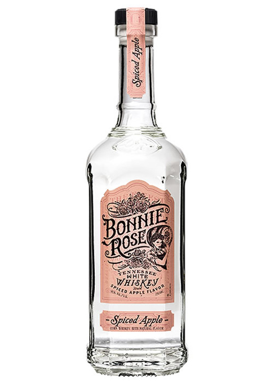 Bonnie Rose Spiced Apple White Whiskey 750ML