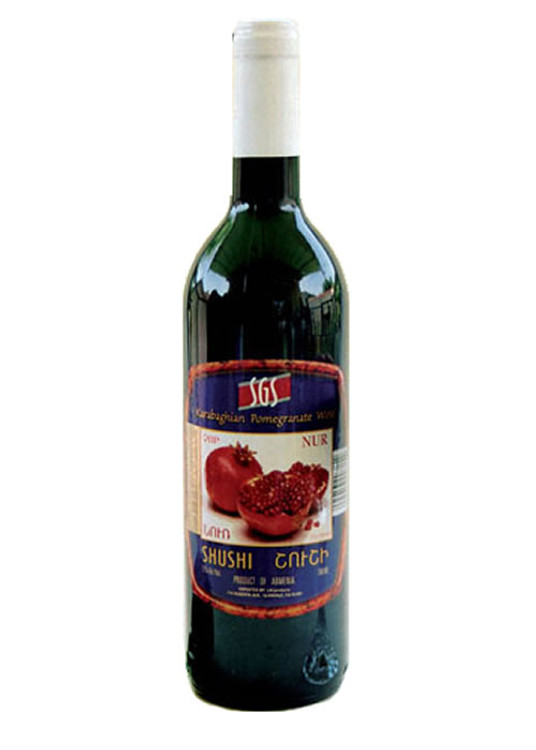 Shushi Pomegranate Wine