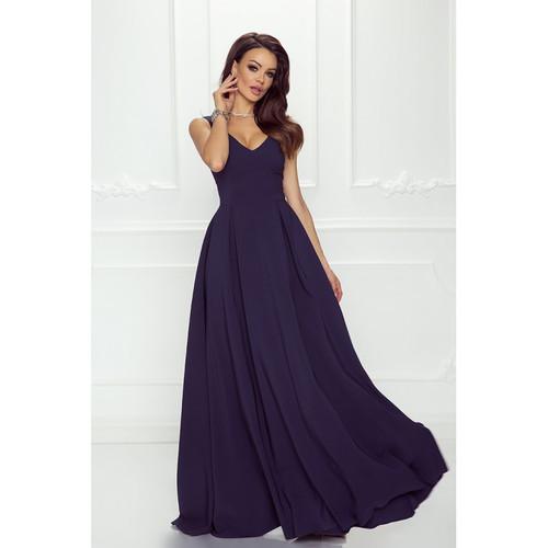Plunge Neckline Maxi Dress