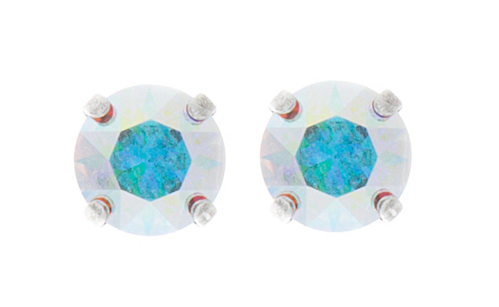 Children's 8mm Stud Earrings Silver