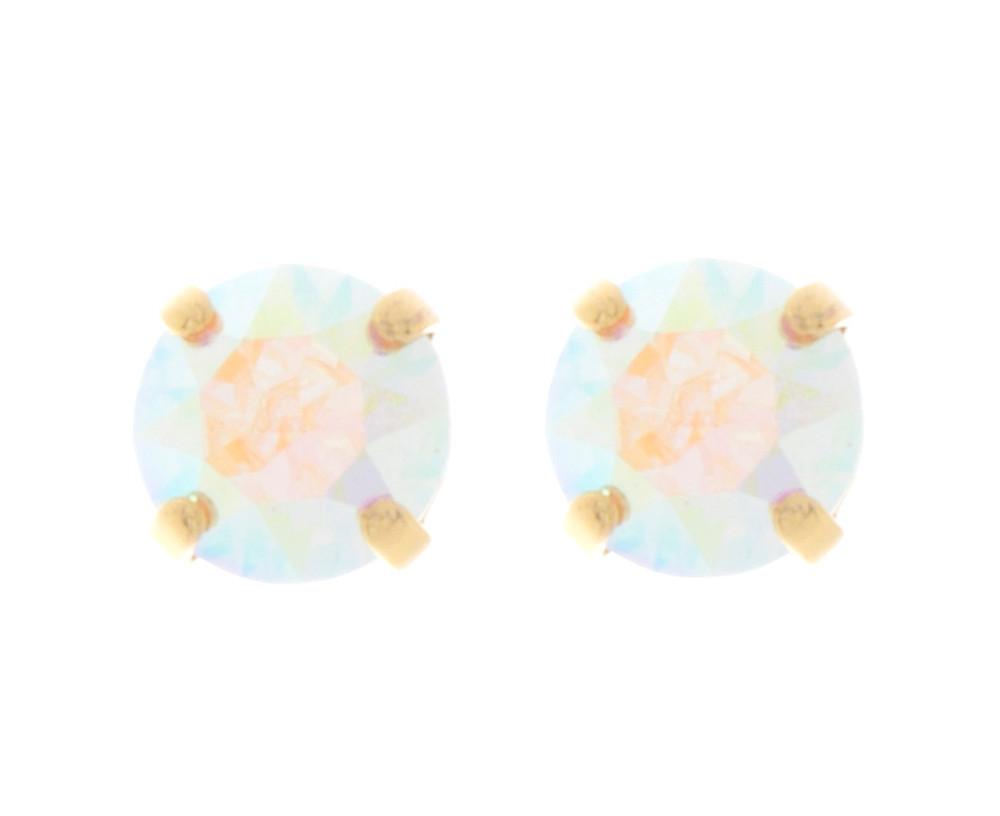 Children's 8mm Stud Earrings Gold